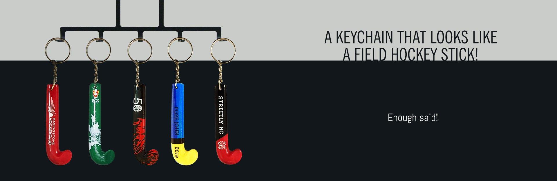 Customize Field Hockey Stick Keychains - RAGE® Custom Works ca9fdba2b