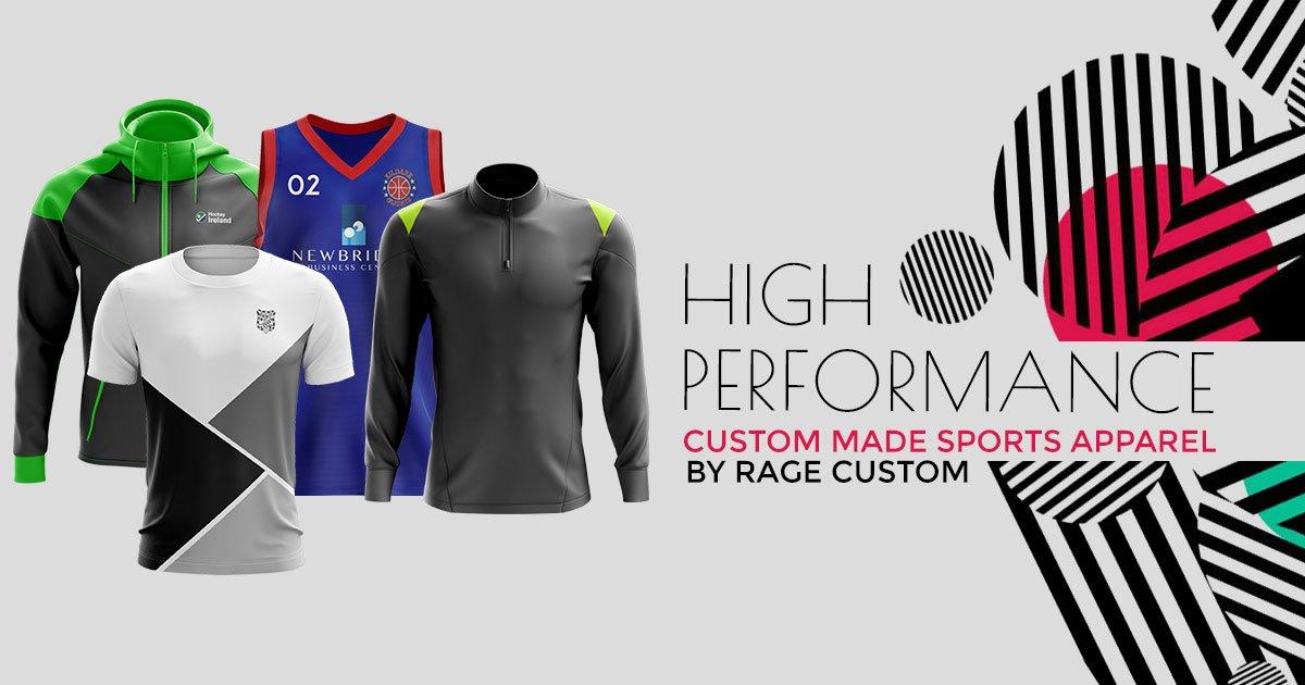 Custom Made Sportswear & Team Kits - RAGE® Custom Works